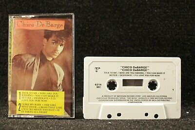 Chico DeBarge by Chico DeBarge 1986 Motown Cassette Tape