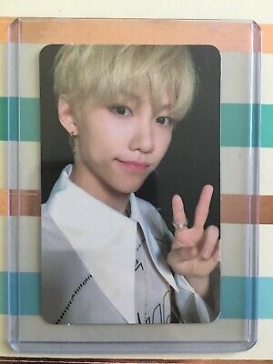 Felix Official Photocard Stray Kids Cle 2: Yellow Wood (In Card Sleeve)