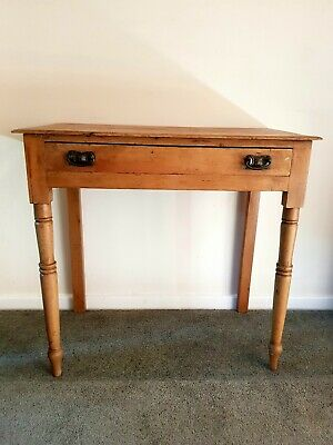 Victorian Rustic Pine hall table