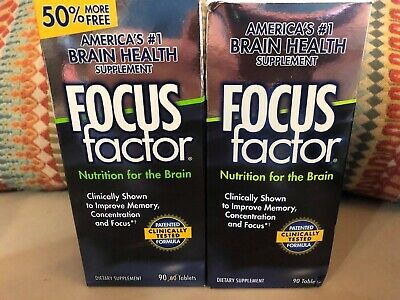 FOCUS FACTOR BRAIN Memory Concentration Supplement Multi