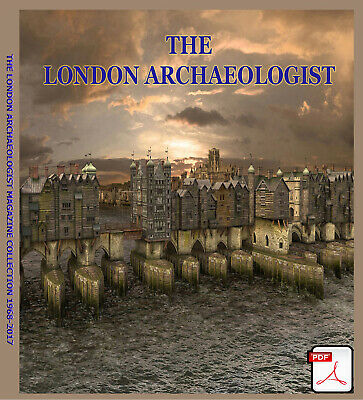 The London Archaeologist PDF Collection (2 Dvds) Detecting Research