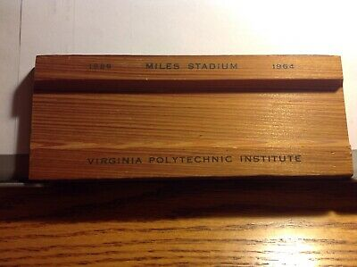 VPI Pencil Tray from Miles Stadium Seating 1926-1964