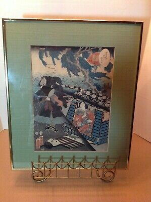 1850's Japanese woodblock print