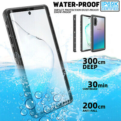 For Samsung Galaxy Note 10+ Plus 5G Waterproof Case Cover With Screen Protector