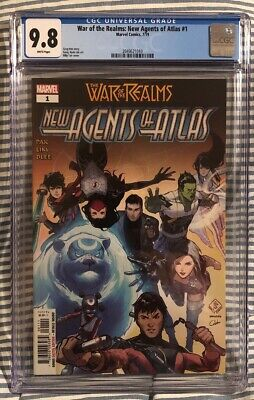 War of the Realms: New Agents of Atlas #1 1st Appearances 1st Print CGC 9.8