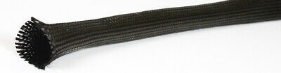 2 METRES BRAND NEW 50mm DIAMETER BRAIDED CARBON FIBRE SLEEVING , SLEEVE , TUBE