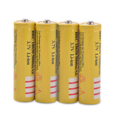 4x 18650 Li-ion 5002mAh Replacement Charge Battery for Remote Controller BC972