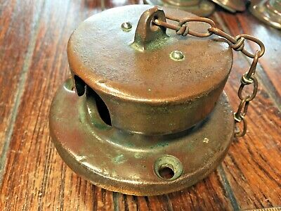 "Vintage Wilcox Crittenden Bronze Round Anchor Chain Pipe 2"" I.d. **Nice Patina**"