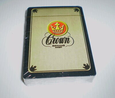 Pack of older beer playing cards  -  Crown Lager
