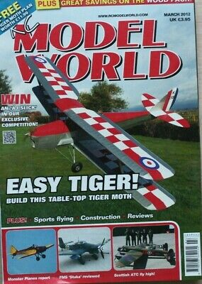 RC Model World - March 2012 - Tiger moth Plan included