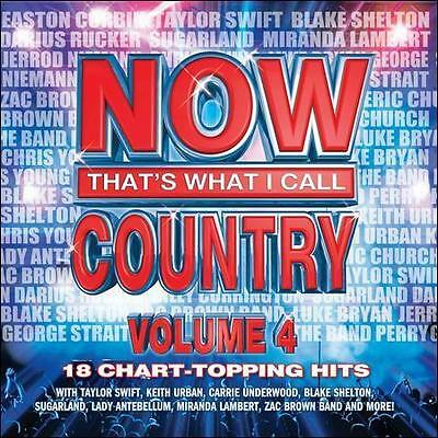 Various Artists : NOW Thats What I Call Country 4 CD