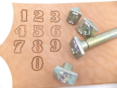 Leather Embossing Stamps Western style Alphabet  Set 3//4 inch Worldwide posting4