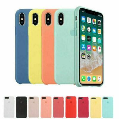 Original Silicone Case Genuine OEM Cover for Apple iPhone X XS Max XR
