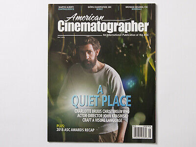 American Cinematographer May 2018 Issue Magazine A Quiet Place