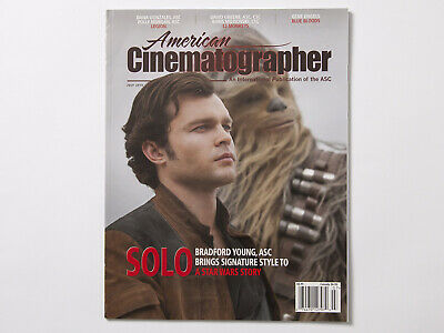 American Cinematographer July 2018 Issue Magazine Star Wars Solo