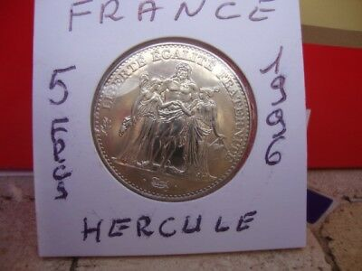 5 Francs Nickel, Hercule De Dupre - 1996