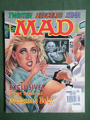 Mad Magazine  #349  - Sept 1996 - Madonna's Baby Cover