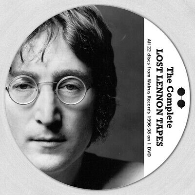 John Lennon - The Complete Lost Lennon Tapes - All 22 volumes on 1 mp3 DVD