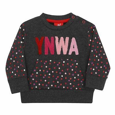 Liverpool FC Baby YNWA Charcoal Jumper LFC Official