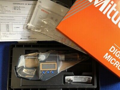 "Mitutoyo Digital Micrometer QuantuMike IP65  0-1"" 0-25mm 293-185-30 Brand new"