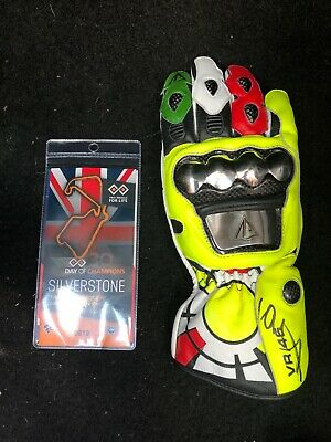 Valentino Rossi Signed Replica Glove Moto GP, Day Of Champions *COA*