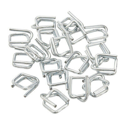 Galvanised Steel Buckles For Composite Corded Polyester Strapping 1000 Per Box