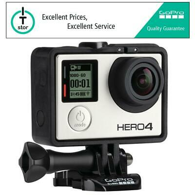 GoPro HERO4 Black Edition with FREE Case & Accessories - Brand New