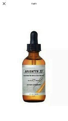 Argentyn 23  Bioactive Silver Hydrosol 23 PPM Dropper, 2 oz-exp 2/21-2 PACK