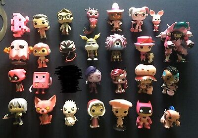 Funko Pop! Lot of 27 Loose OOB Vinyl Figures Some Vaulted, Retired, & Exclusives