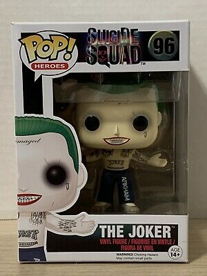 Funko Pop! The Joker (Shirtless) #96 DC Suicide Squad