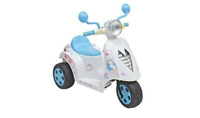 Chad Valley Unicorn 6V Powered Scooter-with Chunky wheels and fun sound effects.