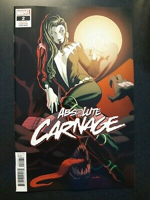 ABSOLUTE CARNAGE #2 1:25 Kris Anka Cult of Carnage Variant Comic Book NM Cates