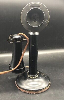 Vintage, Antique Western Electric USA Candlestick Telephone