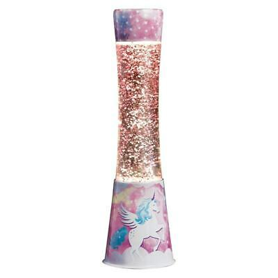 Unicorn Girls Lava Lamp Bedroom Home Liquid Soothing Relaxing Motion Wax Lights