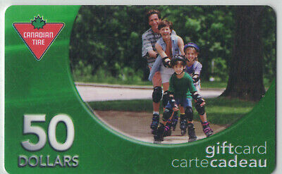 Canadian Tire Gift Cards - FA1-050-01a2 VERY RARE only 1 other known