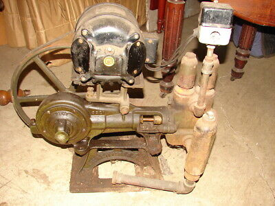 Antique Electric Water Pump - The F E Myers & Bro Co Ashland, Ohio Century Motor
