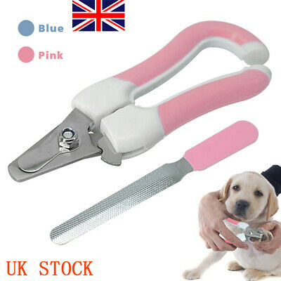 UK Pet Nail Claw Clippers Dog Cat Rabbit Bird Trimmers Scissors Cutters Size S,L