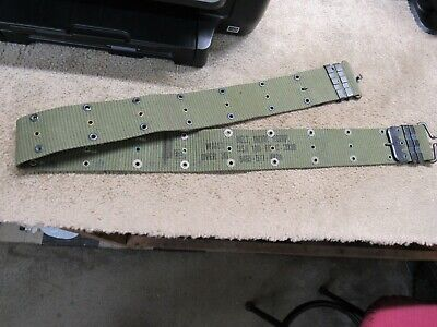 US Vietnam Era M1956 Pistol Belt Dated 1969 SIZE Large