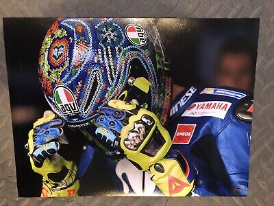 Valentino Rossi Signed 16x12 Photo Moto GP Day Of Champions *COA*