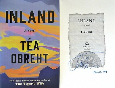Tea Obreht~SIGNED & DATED IN PERSON~Inland~1st/1st + Photos!! The Tiger's Wife