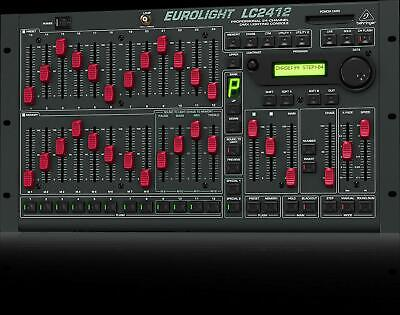 Behringer Eurolight LC2412 Professional 24-Channel DMX Stage Lighting Console