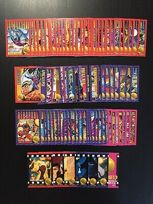 1993 X-Men Series 2 94 Trading Cards SkyBox NM/Mint