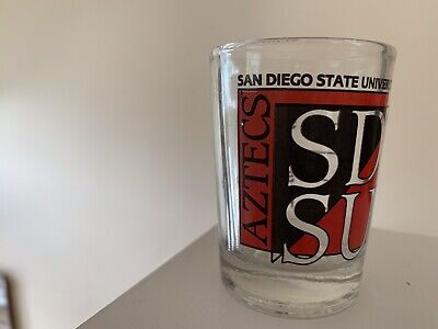 Boelter Brands NCAA Angelo State Rams Plastic Shot Glass 2-Ounce