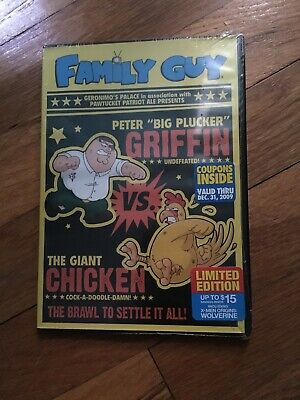 FAMILY GUY: CHICKEN Fight (DVD, Limited Edition f y e  Exclusive)