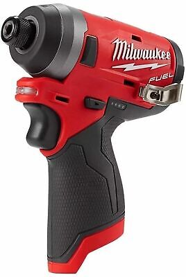 "NEW  Milwaukee 2553-20 M12 FUEL 12V Li-Ion Brushless 1/4"" Hex Impact Driver"
