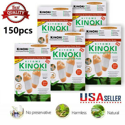 200 PCS Premium Kinoki Detox Foot Pads Organic Herbal Cleansing Health Care