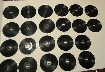 Vintage 22 Carnival Toy Mini Records Used 50 Years Old