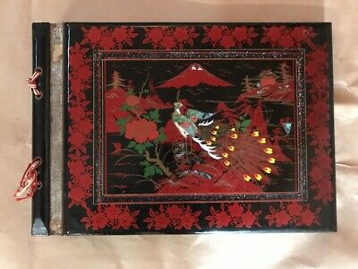 Old Lacquered Photograph Album - Musical