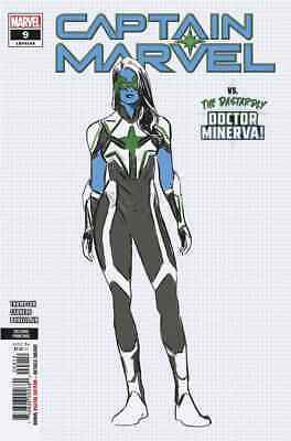 CAPTAIN MARVEL 9 2019 2nd PRINT VARIANT  1st  FULL APPEARANCE STAR