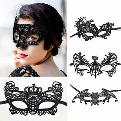 Sexy Gothic Lace Eye Mask Masquerade Halloween Party Fancy Dress Costume